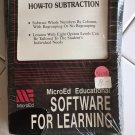MicroED: How-To Subtraction For Commodore Amiga, NEW FACTORY SEALED