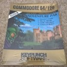 Adventure Pak Games For Commodore 64/128, NEW FACTORY SEALED, KeyPunch