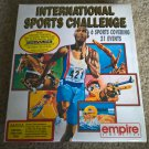 International Sports Challenge For Commodore Amiga, NEW FACTORY SEALED, Empire