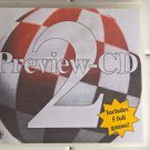 Preview CD 2 For Commodore Amiga, BRAND NEW, 5 Full Games + More EuroCD CD-ROM
