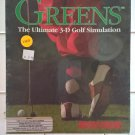 Greens (Golf) For Commodore Amiga, MicroProse