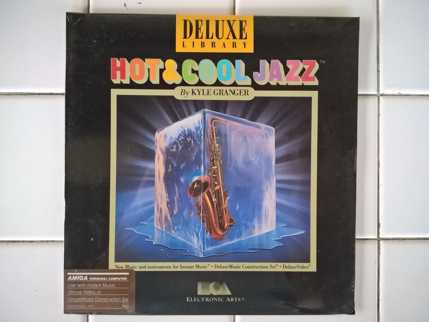 Hot & Cool Jazz For Commodore Amiga, NEW FACTORY SEALED, EA Electronic Arts