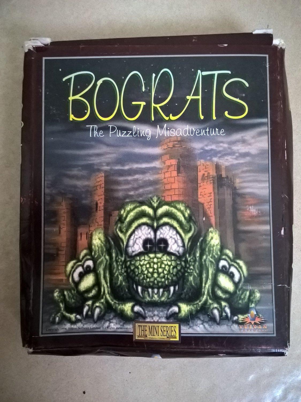Bograts For Commodore Amiga, NEW OPEN BOX, Vulcan