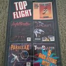 Top Flight: Top Gun, Infiltrator, Uridium, Parallax, +, Commodore 64, NEW SEALED