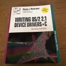 Writing OS/2 2.1 Device Drivers In C, 1993 Book W/ Disk, BRAND NEW, VNR