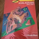KoalaGrams Spelling 1 For Commodore 64/128, NEW FACTORY SEALED, KoalaWare KoalaPad