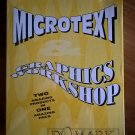 MicroText & Graphics Workshop For Commodore Amiga, NEW FACTORY SEALED, Domark