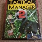 Tactical Manager 2 For Commodore Amiga, NEW FACTORY SEALED, Black Legend