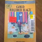 Gold Record Race (Cartridge) For Commodore 64 128, NEW FACTORY SEALED, Maxion