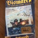 Bismark For Commodore 64 128, NEW FACTORY SEALED, DataSoft
