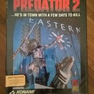 Predator 2 For Commodore Amiga, NEW FACTORY SEALED, Konami