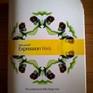 Microsoft Expression Web PC CD-ROM DVD-ROM, FACTORY SEALED, UCQ-00476