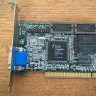 Trident ProVidia 9685 1MB PCI Video Card, TESTED GOOD, Jaton TVGA9685PCI