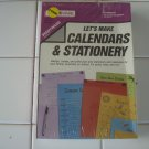 Calendars & Stationary For Commodore 64/128, NEW FACTORY SEALED