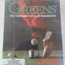 Greens (Golf) For Commodore Amiga, NEW FACTORY SEALED, MicroProse