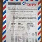Genuine Commodore TechTopics Service Bulletin – Jul. 1, 1992 Amiga PC30 PC60 A2286