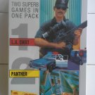LA Swat + Panther For Commodore 64/128 & Atari 800XL, NEW SEALED, MasterTronic