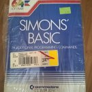 Simons Basic For Commodore 64/128, NEW FACTORY SEALED, Part No C64108