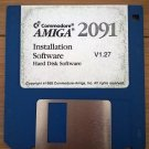 Amiga 2091 Installation Disk V1.27, BRAND NEW, Commodore A2091 SCSI Setup Floppy 317806-03