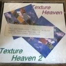 Texture Heaven 1 & 2 For Commodore Amiga, NEW FACTORY SEALED, Asimware 2-CD Set