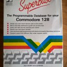 Superbase For Commodore 128, NEW FACTORY SEALED, Native C128 80-column B-Stock