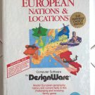 European Nations & Locations For Commodore 64/128, NEW FACTORY SEALED, DesignWare
