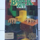 Block Out For Commodore Amiga, NEW FACTORY SEALED, California Dreams