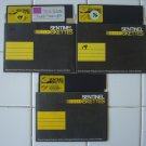 """Genuine Single-Sided 5.25"""" Floppy Disks – Lot of 3, Used"""
