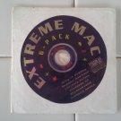 Extreme Mac 6-Pack, IN ORIGINAL SLEEVE, CD-ROM Apple Macintosh