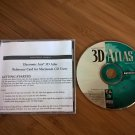 3D Atlas For Apple Mac 68K And PPC, In Jewel Case, EA Electronic Arts, Macintosh