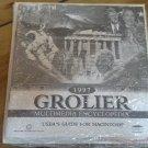 1997 Grolier Multimedia Encyclopedia For Mac, NEW FACTORY SEALED, CD-ROM