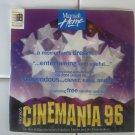 Cinemania 96 For Windows 95 With Manual, Microsoft CD-ROM