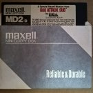 "688 Attack Sub SPECIAL MAXELL VERSION For IBM PC & Compatibles, DOS 5.25"" Floppy, EA"