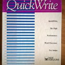 QuickWrite For Commodore Amiga, NEW OPEN BOX, New Horizons