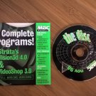 Mac Addict CD #27 68K And PPC, IN ORIGINAL FOLDER, Nov 1998, Apple Macintosh