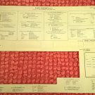 Fleet System 2 & 3 Keyboard Overlay / Cheatsheet For Commodore 128, BRAND NEW, Leroy's