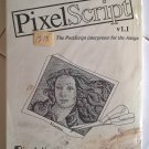 PixelScript V1.1 For Commodore Amiga, NEW FACTORY SEALED, PostScript Interpreter