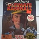 Tony La Russa's Ultimate Baseball For Commodore 64/128, NEW FACTORY SEALED, SSI