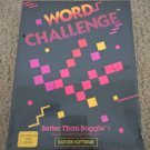 Word Challenge For Commodore 64/128, NEW FACTORY SEALED, Hayden