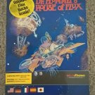 Dr Plummets House Of Flux For Commodore Amiga, NEW OPEN BOX, MicroIllusions