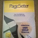 PageSetter For Commodore Amiga, SPECIAL PROMOTIONAL VERSION & SEALED, Gold Disk
