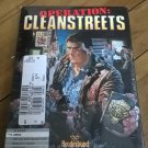 Operation Cleanstreets For Commodore Amiga, NEW FACTORY SEALED, Broderbund