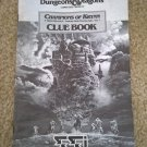 Champions Of Krynn Clue Book, AD&D SSI, Dungeons & Dragons