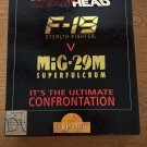 Head To Head: F-19 V MiG-29M For Commodore Amiga, NEW OPEN BOX, Domark