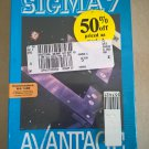 Sigma 7 for Commodore 64/128, NEW FACTORY SEALED, Avantage