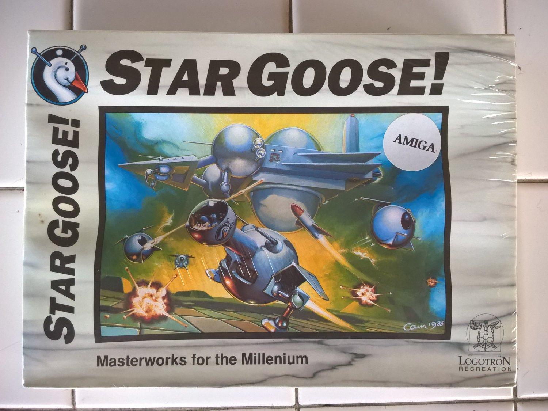 StarGoose For Commodore Amiga, NEW FACTORY SEALED, Logotron