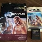 Defender For Atari 400/800/XL/XE, COMPLETE IN BOX, Cartridge Version CXL4025