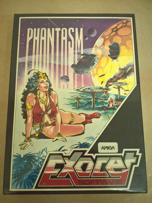 Phantasm For Commodore Amiga, NEW FACTORY SEALED, Exocet