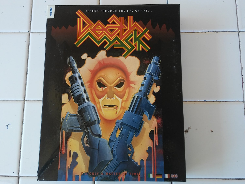Death Mask For Commodore Amiga, NEW OPEN BOX, Alternative Software