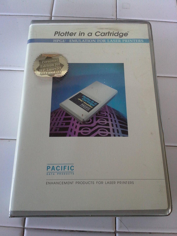 HPGL Emulation Cartridge For LaserJet IID IIP, NEW IN BOX, Plotter